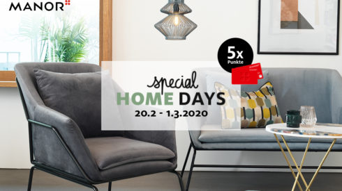 Special Home Days bei Manor